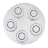 Rábalux Demna LED 5 izzós mennyezeti lámpa