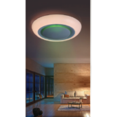 Rábalux Calvin LED mennyezeti lámpa távirányítóval - 41 cm