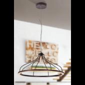Rábalux Eaden LED függeszték - metálbarna