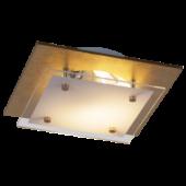 Rábalux June LED mennyezeti lámpa - 23,5 cm - aranyfóliázott
