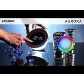 Rábalux Aurora LED ébresztőóra