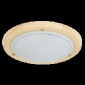 Rábalux Ufo mennyezeti lámpa - natúr - 30 cm