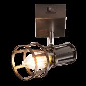 Rábalux Aria 1 izzós fali lámpa - kapcsolóval