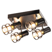 Rábalux Aria 4 izzós mennyezeti lámpa