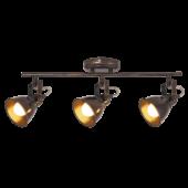 Rábalux Vivienne mennyezeti lámpa - antik barna