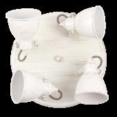 Rábalux Vivienne mennyezeti lámpa - antik fehér