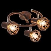 Rábalux Odin 3 izzós mennyezeti lámpa