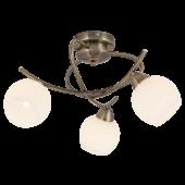 Rábalux Evangeline 3 izzós mennyezeti lámpa - antik bronz