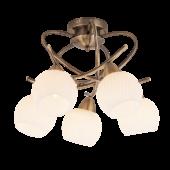 Rábalux Evangeline 5 izzós mennyezeti lámpa - antik bronz