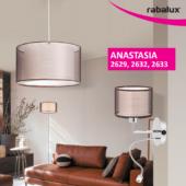 Rábalux Anastasia fali lámpa