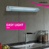 Rábalux Easy light konyhai pultmegvilágító lámpa - 34,7 cm széles - ezüst