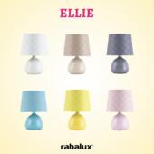 Rábalux Ellie asztali lámpa - kék