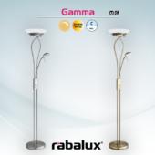 Rábalux Gamma állólámpa - szatin-króm RB-4077