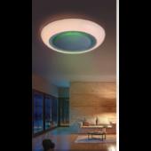 Rábalux Calvin LED mennyezeti lámpa távirányítóval - 56 cm