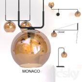 Nowodvorski Monaco asztali lámpa
