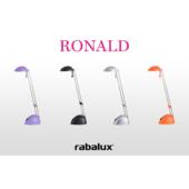 Rábalux Ronald asztali LED lámpa - ezüst