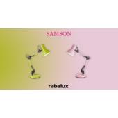 Rábalux Samson asztali lámpa - rózsaszín