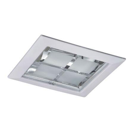 Rábalux Spot office ráépíthető és beépíthető lámpa - fehér - szögletes