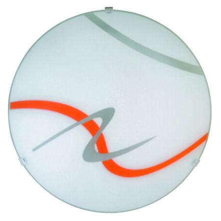 Rábalux Soley mennyezeti lámpa - narancs - 30 cm