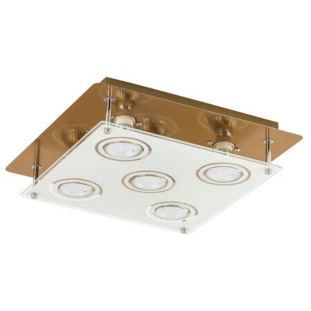 Rábalux Naomi LED 5 izzós mennyezeti lámpa - bronz
