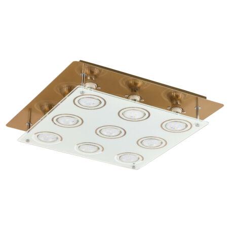 Rábalux Naomi LED 9 izzós mennyezeti lámpa - bronz