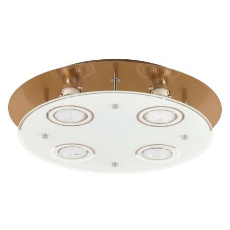 Rábalux Naomi LED 4 izzós mennyezeti lámpa - bronz