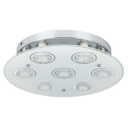 Rábalux Naomi LED 7 izzós mennyezeti lámpa - króm
