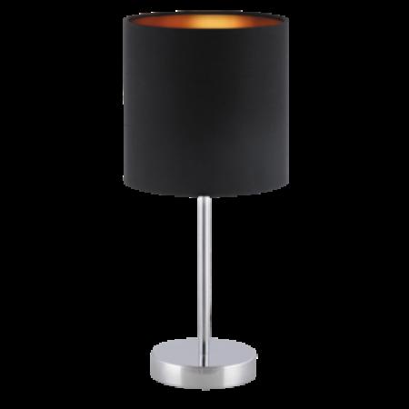 Rábalux Monica asztali lámpa - fekete-arany