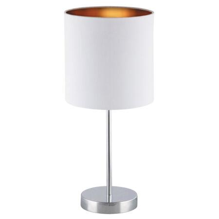 Rábalux Monica asztali lámpa - fehér-arany