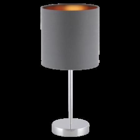 Rábalux Monica asztali lámpa - szürke-arany
