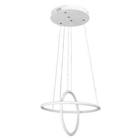 Rábalux Donatella LED függeszték 2 világítótesttel 37W