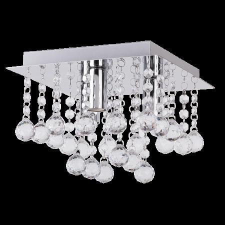 Rábalux Corinna szögletes mennyezeti lámpa - 25 cm