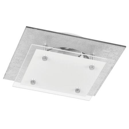 Rábalux June LED mennyezeti lámpa - 23,5 cm - ezüstfóliázott