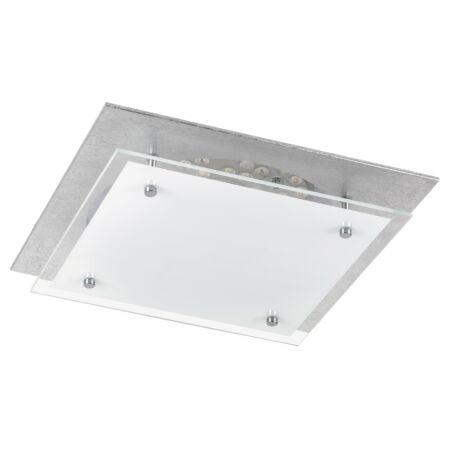 Rábalux June LED mennyezeti lámpa - 31,5 cm - ezüstfóliázott