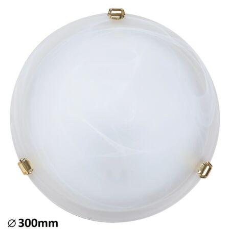 Rábalux Alabastro mennyezeti lámpa - arany köröm - 30 cm