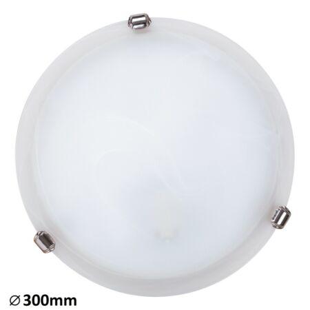 Rábalux Alabastro mennyezeti lámpa - króm köröm - 30 cm