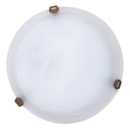Rábalux Alabastro mennyezeti lámpa - bronz köröm - 30 cm
