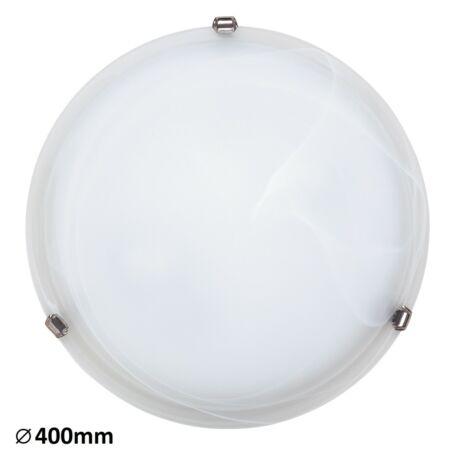 Rábalux Alabastro mennyezeti lámpa - króm köröm - 40 cm