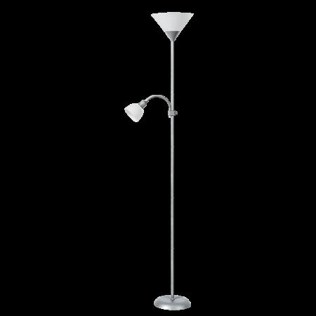 Rábalux Action állólámpa - szatén-króm