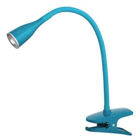 Rábalux Jeff LED csiptetős asztali lámpa - kék