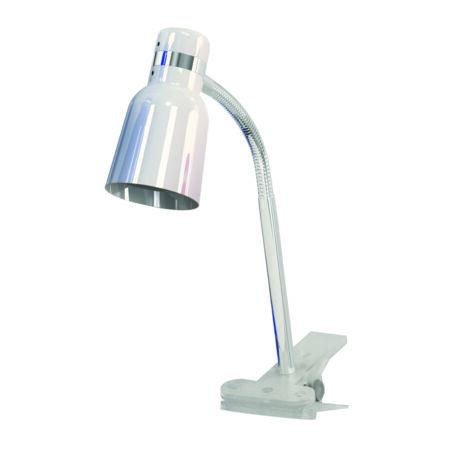 Rábalux Color csiptetős íróasztali lámpa - fehér