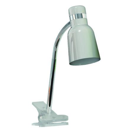 Rábalux Color csiptetős íróasztali lámpa - ezüst