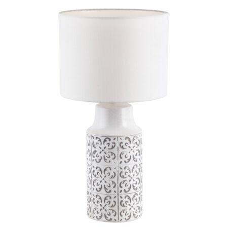 Rábalux Agnes asztali lámpa - szürke
