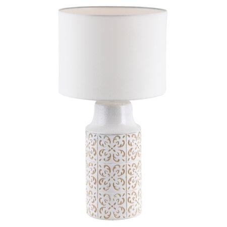 Rábalux Agnes asztali lámpa - bézs