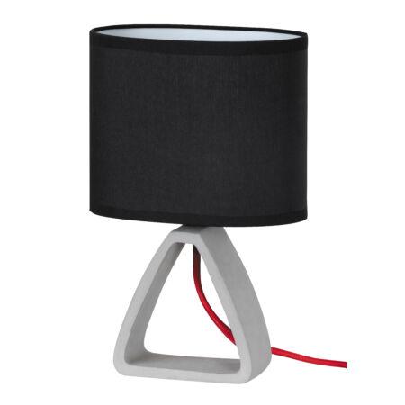 Rábalux Henry asztali lámpa - fekete