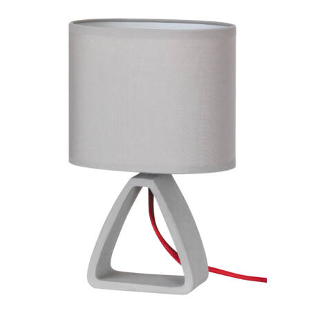 Rábalux Henry asztali lámpa - szürke