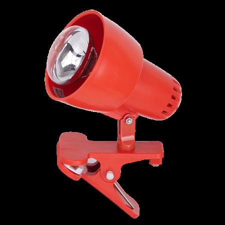 Rábalux Clip csíptetős lámpa - narancs