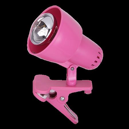 Rábalux Clip csíptetős lámpa - rózsaszín