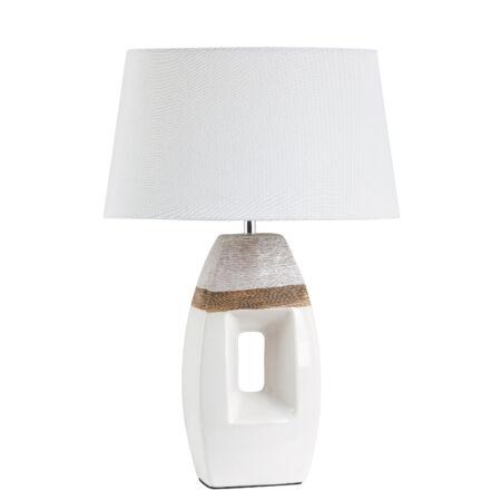 Rábalux Leah asztali lámpa - fehér, barna