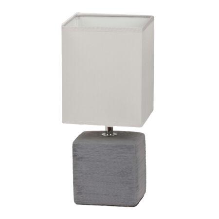 Rábalux Orlando asztali lámpa - szürke